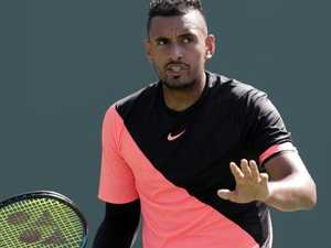 Kyrgios bombs out in more ways than one