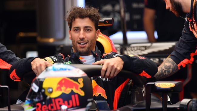 Red Bull's Australian driver, Daniel Ricciardo.