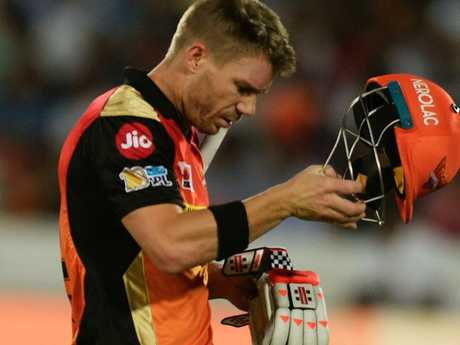 Another blow to David Warner.