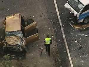 Woman dies after horrific multi-vehicle crash