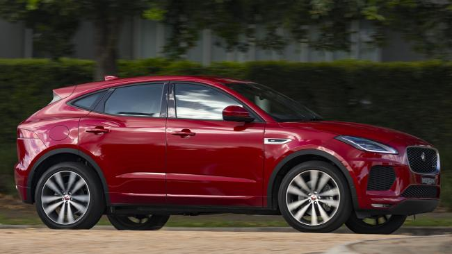 The E-Pace is unquestionably a great looking vehicle. Pic: Supplied.