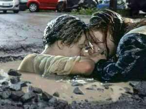 The Coast road where potholes are a Titanic-sized problem