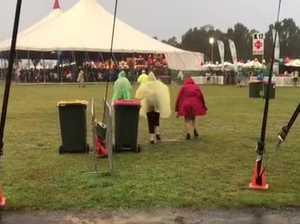 Bluesfest Day 1 - rain