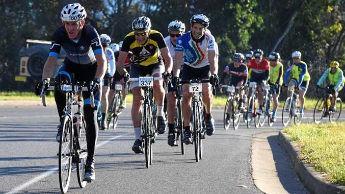 GET PEDALLING: This year's C.ex McDonalds Coffs Coast Cycle Challenge will be held on October 28.