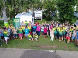 Caravaners get together in Jubilee Pocket