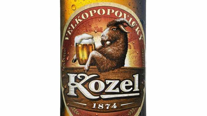 Kozel beer.