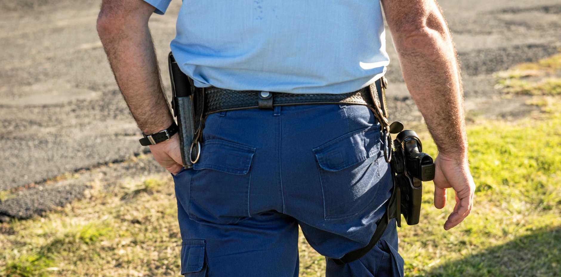 NSW police generic arrest, gun ,shooting. 28 July 2017