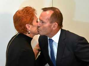 Good to see Abbott, Hanson burying the hatchet
