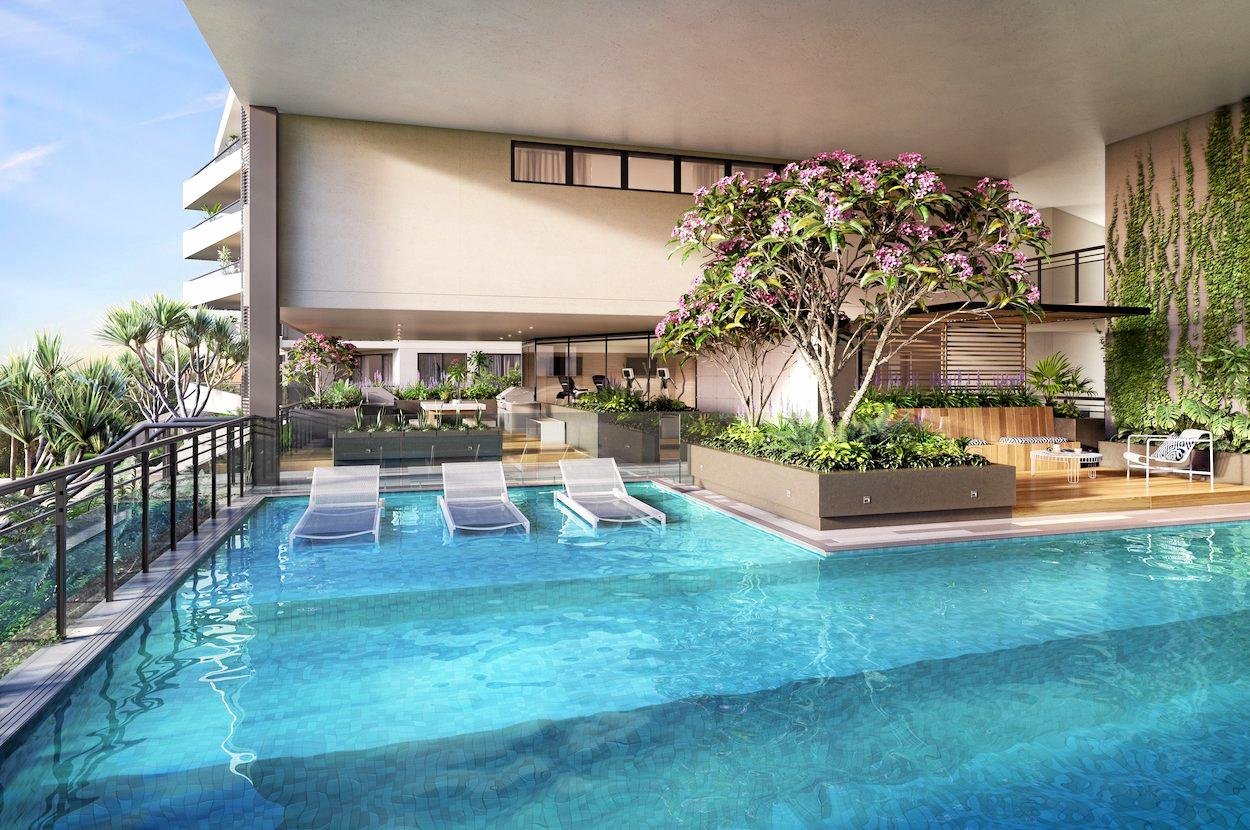 New $65 million beachside project The Hedge at Buddina has attracted waves of interest with the development already 40% sold following its soft launch.