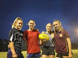 Making their mark in AFL