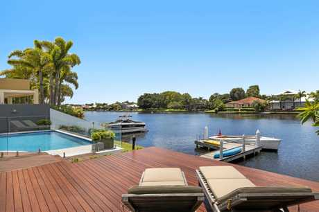 ON THE MARKET: This Noosa Waters home is receiving plenty of interest.