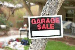 Garage sale helps Kenyan family