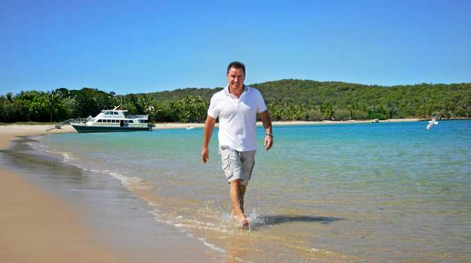 STILL WAITING Tower Holdings CEO Terry Agnew On Great Keppel Island
