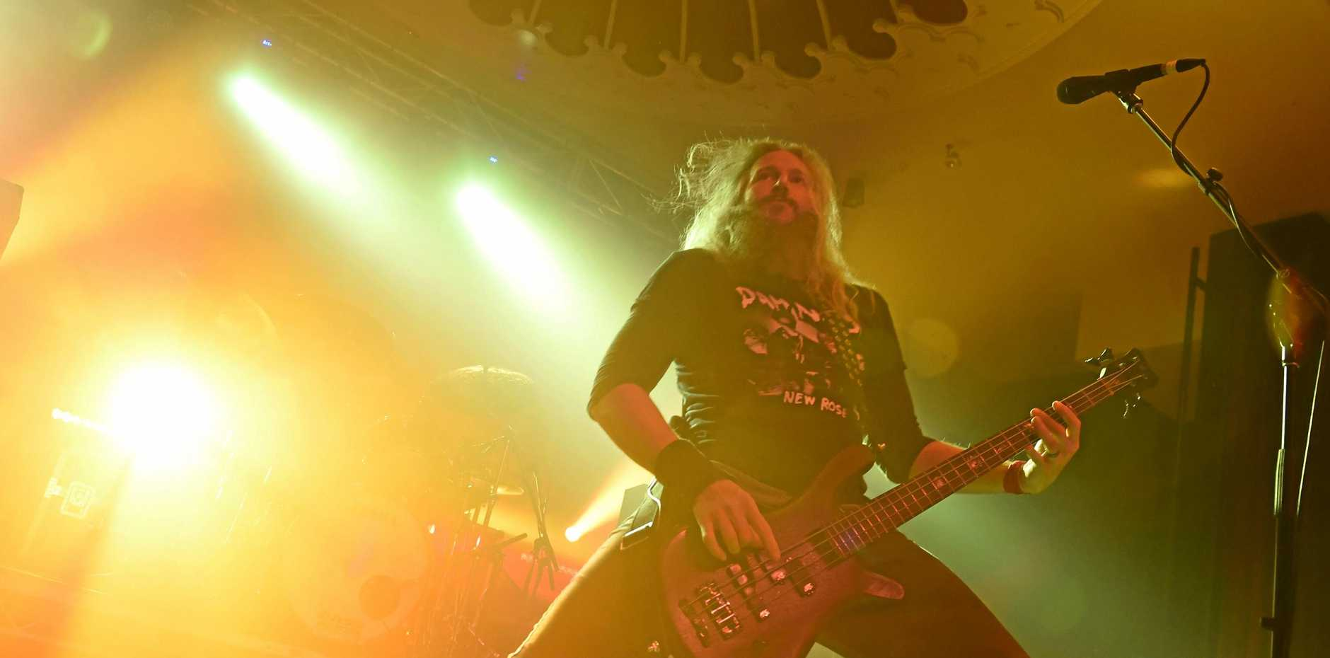 Mastadon perform at Eatons Hill in Brisbane with Gojira to a capacity crowd after their successful Download performance in Melbourne.