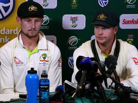 An emotional Cameron Bancroft asks for forgiveness
