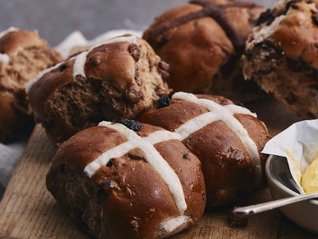 Fancy: David Jones' controversial hot cross buns.