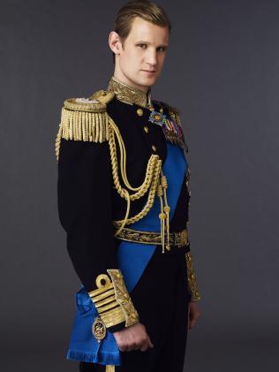 Matt Smith as Prince Philip.