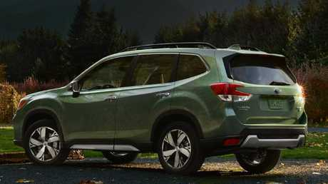 The new model is based on billion-dollar new platform that will underpin all Subarus. Picture: Supplied.