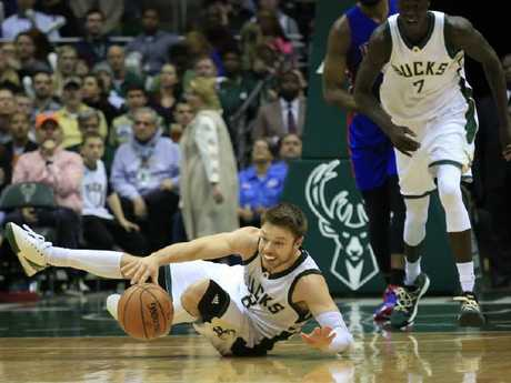 Milwaukee need tough guard Matthew Dellavedova back to his best. Picture: AP