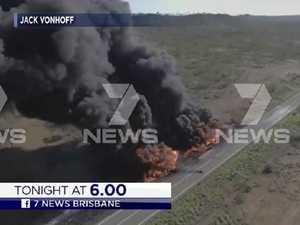 Police complete grim task at fatal crash site