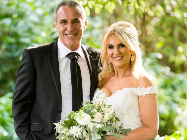 John and Melissa on Married At First Sight. Photo: Channel 9