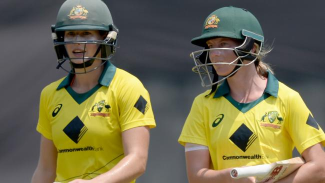 Meg Lanning and Ellyse Perry proved an irresistible pairing.