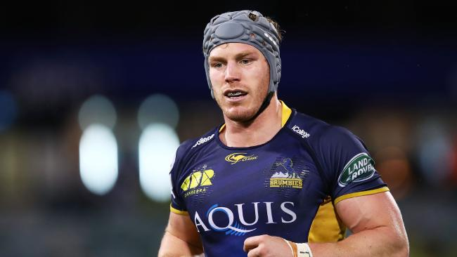David Pocock is back for the Brumbies.