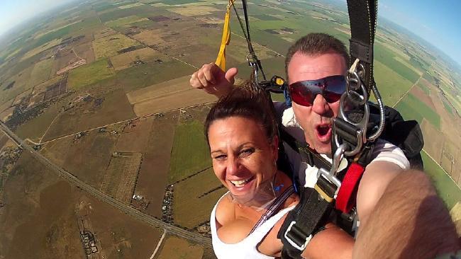 Skydiver Tony Rokov. Picture: Facebook