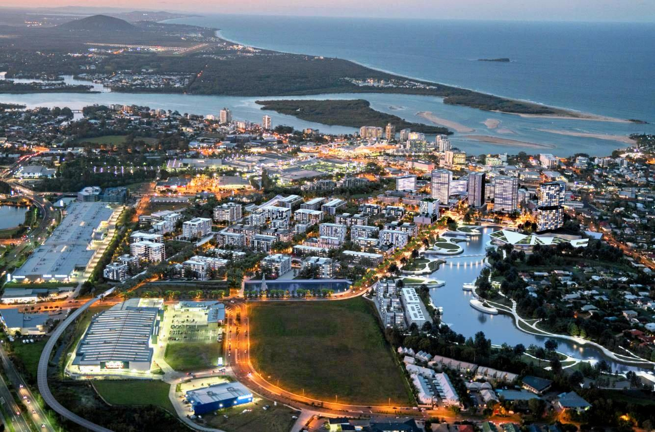 Sunshine Coast Council has committed to using funds from a potential land sale to go towards bringing a new convention and exhibition centre to the new CBD.