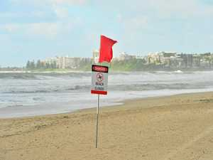 CLOSED: Dangerous conditions shut down 12 Coast beaches