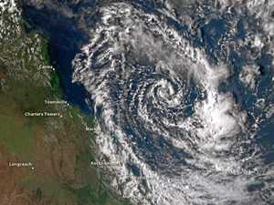 Ex-Cyclone Iris may reform as it moves closer to Qld