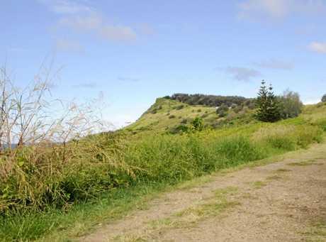 Pat Morton Lookout at Lennox Head.
