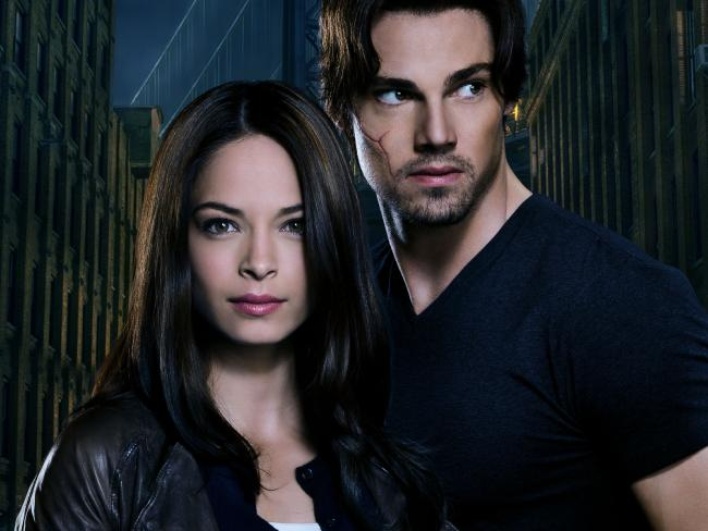 Beauty and the Beast stars Kristin Kreuk and Jay Ryan. Picture: Channel Ten