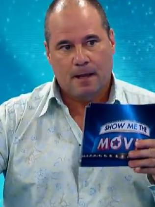 He appeared on Rove's new 'Show Me the Movies'.