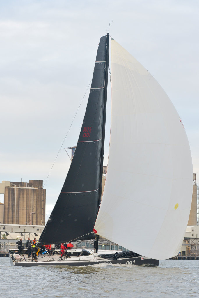 Finish of the 70th Brisbane to Gladstone yacht race.