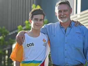 Games stardom runs in this Gympie family - literally