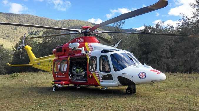 Westpac Rescue chopper
