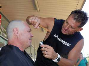 Coast man shaves it all off for Leukaemia