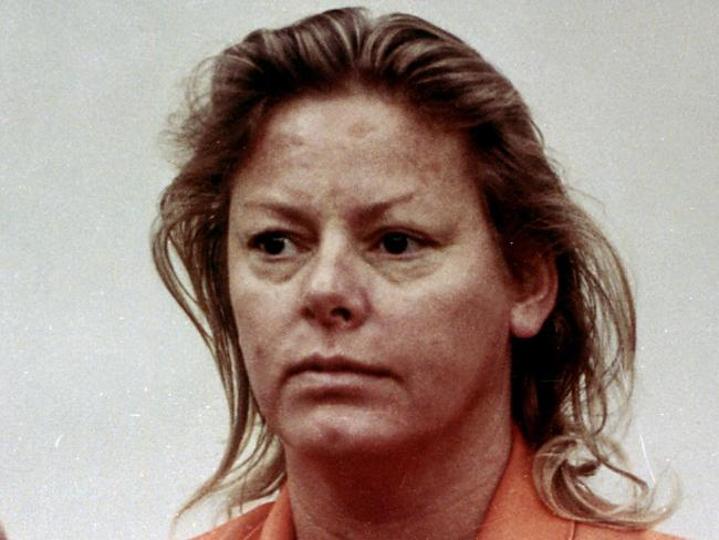'I'll be back': Serial killer Aileen Wuornos. Picture: Supplied