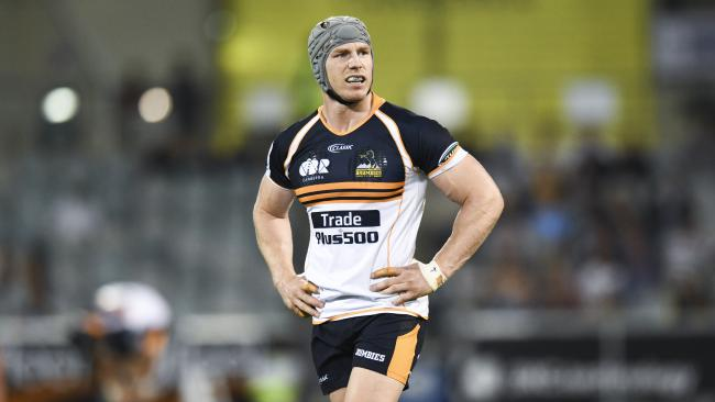 David Pocock made his return for the Brumbies after a year's sabbatical.