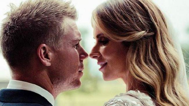 David Warner and wife Candice are still going strong after five years and many controversies. Picture: Instagram
