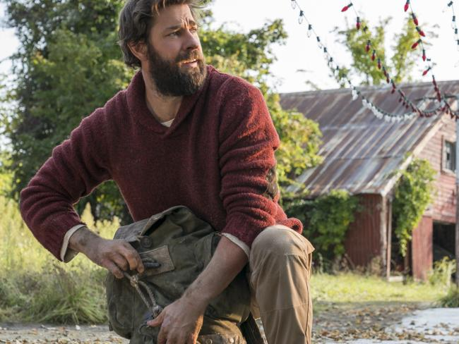 John Krasinski plays Lee Abbott in A Quiet Place. Picture: Paramount Pictures