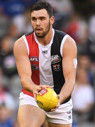 Paddy McCartin in action on Good Friday.
