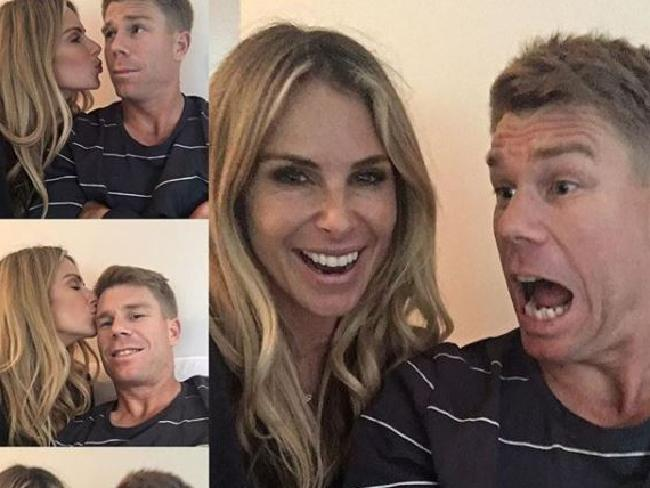 Candice says her husband 'cracks me up'. Picture: Instagram