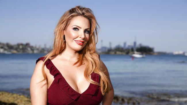 MAFS star Sarah Roza in Vaucluse, Sydney. Picture: Justin Lloyd.