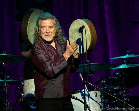 Robert Plant was charismatic. Conttributed Bruce Davis
