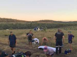 LifeFlight chopper airlifts man from rural property