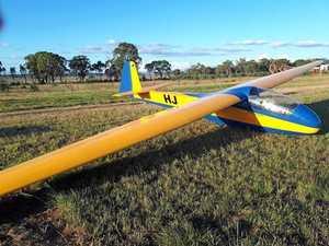 GALLERY: Vintage gliders fly into Warwick Aerodrome