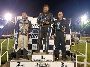ROYAL RUMBLE: Grafton speedster finishes first at home