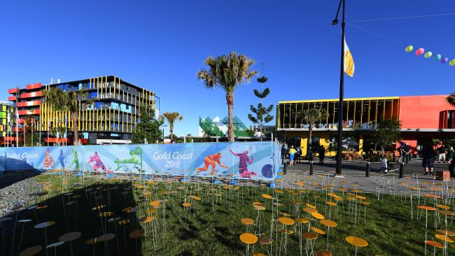 Syringes have been found at the Gold Coast Commonwealth Games Athletes Village. Picture: AAP Image/Dave Hunt